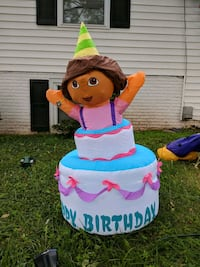 Dora the Explorer Birthday inflatable Sterling, 20164