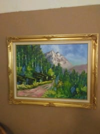 One of a kind oil painting Laredo, 78043