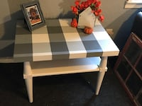 Awesome hand painted buffalo plaid table  Windsor Heights, 50324