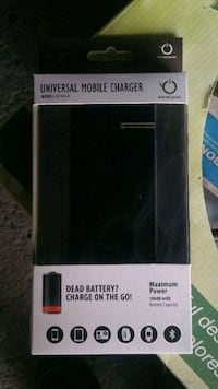 Universal portable battery charger power pack Thorold, L2V 0A6