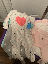Baby girl clothes (0-6months)