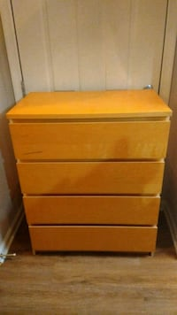 brown wooden 3-drawer chest Germantown, 20876