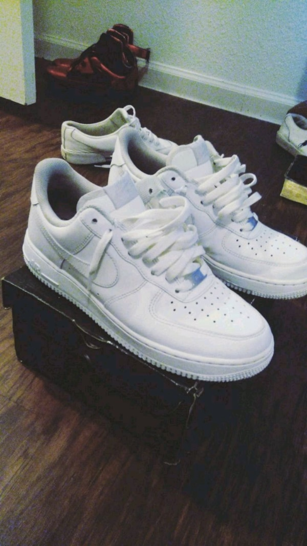 Used All White Forces for sale in Dallas - letgo aa522ce92