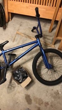 blue and black BMX bike Burlington, L7L 0E9