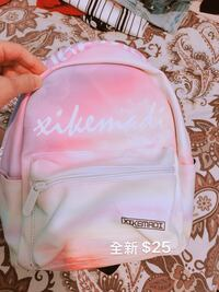 pink and white Victoria's Secret backpack Vancouver, V5S 0A8