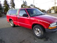red gmc sonoma truck Belfair, 98528