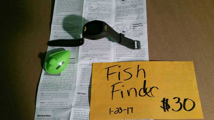 letgo - wrist mounted rf35 smartcast fis in owensboro, ky, Fish Finder