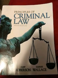 Criminal Law College Textbook Crooksville, 43731