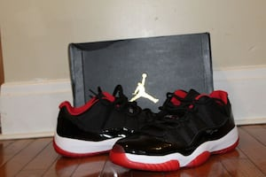 Bred 11 lows size 13