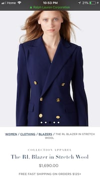Beautiful Ralph Lauren jacket  Toronto