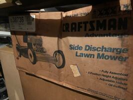 Craftsman lawnmower new in the box