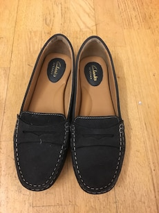 Womens Clarks loafers size 39