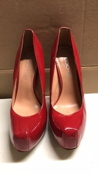 Red Stilletoes High Heels size 9