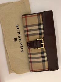 Authentic Burberry wallet Mississauga