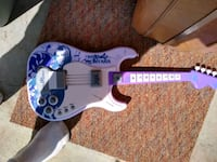 white and purple electric guitar Grand Junction, 81505