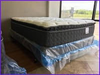 Brand New Pillowtop Mattresses. King, Queen, Full, and Twin
