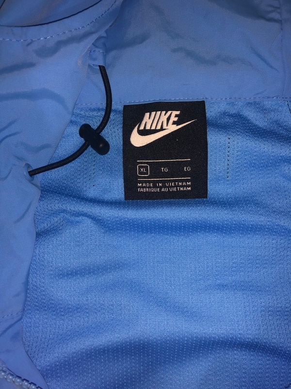 Nike windbreaker jacket Size XL 4