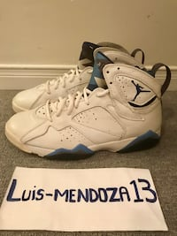 Jordan French Blue 7s from 2002. Size 9. Pre owned (See Pics) No Trades Toronto, M6E