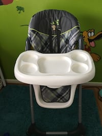 baby's white and gray highchair Germantown