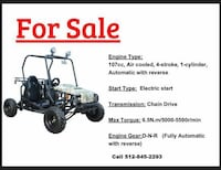 Go Carts for sale Dripping Springs