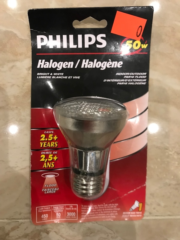 silver Philips halogen light bulb pack 8ee2d523-6f1a-45cf-a683-027383f53ae5