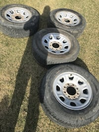 8x180 rims with tires