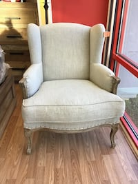 New Wing-Back Upholstery Chair