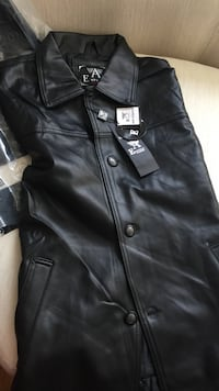 black leather button-up jacket Toronto, M3A 3P8