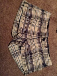 white, black, and gray plaid shorts London, N5V 2P2