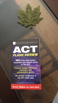 Learning Express ACT flash review 600 vocabulary and science  Clarksburg, 20871