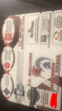 TC Williams football 1 year lasting reusable coupons  Alexandria, 22304