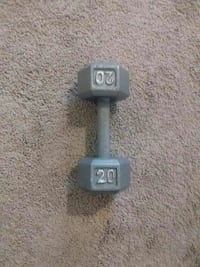 20kg grey fixed weight dumbbell Airway Heights, 99001
