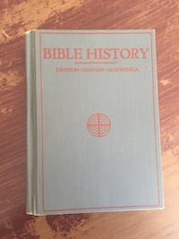 bible history 1931 Leominster, 01453