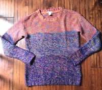 Women's Colorful Knit Sweater  Herndon, 20171