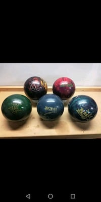 Bowling Balls (Used, Various Weights) Brea, 92821