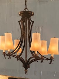 Brand new chandelier never been used. Murray, 84107