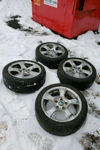 BMW 3 series wheels run flat tires Hagerstown, 21740