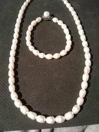 White Freshwater Pearl Set Daly City