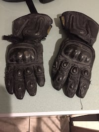 Motorcycle gloves lrg