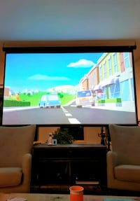 "120"" Projector Screen in Perfect Condition Toronto, M5A 2X7"