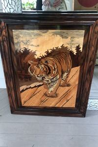 Wood in the tiger