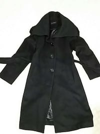 Women's black, wool coat (size M/L) Vienna, 22180