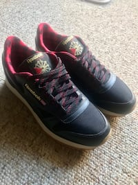 721d7126c77 Used Reebok Mens Classic Leather Lj Black Shoes Size 8.5 NEW for ...