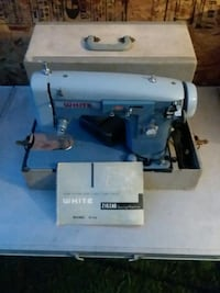 White sewing machine Galien, 49113