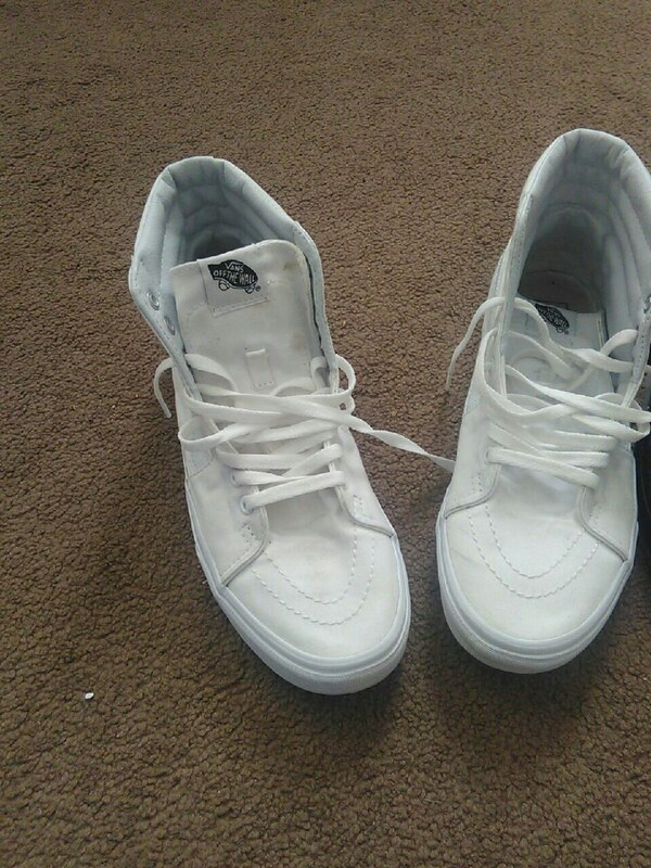 5e1c4a2b417c Used White vans size 9 mens for sale in Ocala - letgo