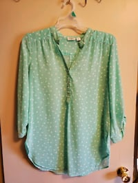 Misses size large tops size 12 pants and skirt