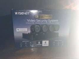 WISENET (Samsung) Home Video Security System