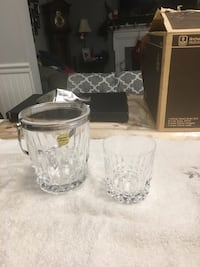 10 Rocks glasses with ice bucket Gaithersburg, 20879