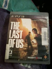 The Last of Us Sony PS3 game case