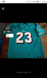 Miami Dolphins Brown adult size xl jersey Bedford, B4B 0T8